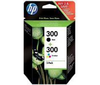 Cartus, color/black, Nr. 300, 2 buc./set, HP CN637EE