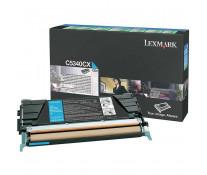 Toner, cyan, LEXMARK C5340CX