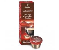 Capsule cafea, 10 capsule/cutie, Caffe Crema, TCHIBO Cafissimo Columbia Andino