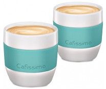 Set cati Caffe Crema, portelan, 125ml, 2 cani/set, mint, TCHIBO Cafissimo MINI