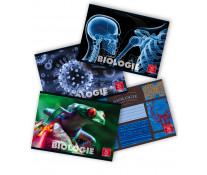Caiet pentru biologie, 17 x 24cm, 24 file, PIGNA Clasic
