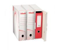 Cutie pentru arhivare bibliorafturi, 345 x 245 x 90mm, alb, ESSELTE