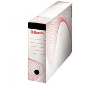 Cutie pentru arhivare pentru dosare suspendate, 345 x 245 x 120mm, alb, ESSELTE