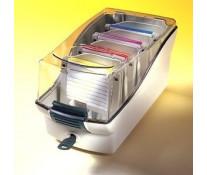 Cutie pentru dischete, gri, FELLOWES Softworks