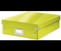 Cutie, medie, verde, LEITZ Click & Store Organizer