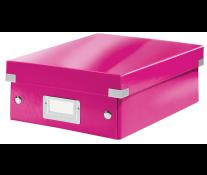 Cutie, mica, roz, LEITZ Click & Store Organizer