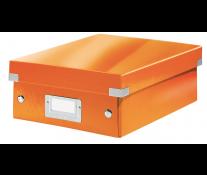 Cutie, mica, portocaliu, LEITZ Click & Store Organizer