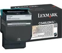 Toner, black, LEXMARK C546U2KG