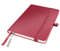 Caiet de birou, A6, dictando, rosu, LEITZ Complete
