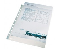 Folie de protectie, A4, transparent cristal, 40 microni, 100 buc./set, ESSELTE
