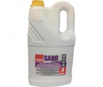Detergent lichid pentru geamuri, 4L, SANO Clear
