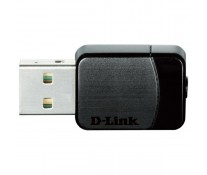 Adaptor USB Wireless, Dual-Band 300 + 433Mbps, negru, D-LINK DWA-171