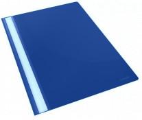 Dosar din plastic, albastru inchis, 5 buc.set, Esselte Standard