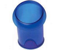 Suport de birou, cilindric, albastru transparent, FELLOWES