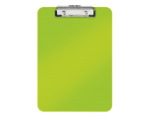 Clipboard A4, verde metalizat, LEITZ WOW