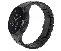 SmartWatch VECTOR Watch Luna, negru satinat, bratara metalica