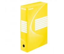 Cutie pentru arhivare, 345 x 245 x 80mm, galben, ESSELTE Boxycolor VIVIDA