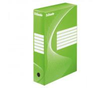 Cutie pentru arhivare, 345 x 245 x 80mm, verde, ESSELTE Boxycolor VIVIDA