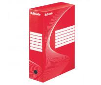 Cutie pentru arhivare, 345 x 245 x 100mm, rosu, ESSELTE Boxycolor VIVIDA