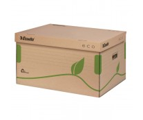 Container pentru arhivare, cu capac, 345 x 242 x 439mm, ESSLETE Eco