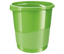 Cos de birou, 14l, verde, ESSELTE Europost VIVIDA