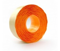 Etichete autoadezive pt. marcatoare, 26 x 12mm, 1500 etichete/rola, portocaliu fluorescent, PRIX