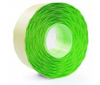 Etichete autoadezive pt. marcatoare, 26 x 16mm, 1000 etichete/rola, verde fluorescent, PRIX