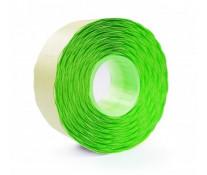 Etichete autoadezive pt. marcatoare, 26 x 12mm, 1500 etichete/rola, verde fluorescent, PRIX
