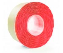 Etichete autoadezive pt. marcatoare, 26 x 16mm, 1000 etichete/rola, rosu fluorescent, PRIX