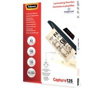 Folie laminare A3, 125 microni, 100 folii/cutie, FELLOWES Capture125