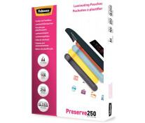 Folie laminare A4, 250 microni, 100 folii/cutie, FELLOWES Preserve250