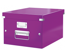 Cutie pentru arhivare, 281 x 200 x 370mm, mov, LEITZ Click & Store