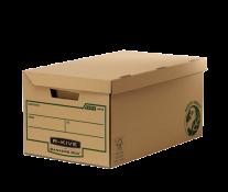 Container pentru arhivare, 260 x 325 x 535mm, kraft, FELLOWES R-Kive