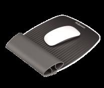 Mousepad cu suport pentru incheieturi, gri, FELLOWES I-Spire