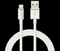 Cablu de date - USB, 2m, alb, LEITZ Complete Lightning