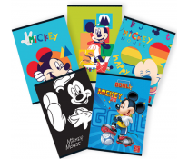 Caiet A5, 48 file, matematica, PIGNA Premium Mickey Mouse
