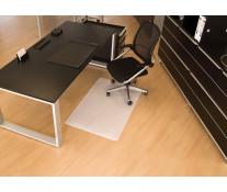 Protectie podea pentru suprafete dure, forma O, 90 x 120cm, RS OFFICE BSM