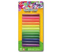 Plastilina, 165g, 12 culori/set, PIGNA ColourKids