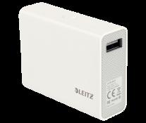 Baterie externa cu USB, 6.000 mAh, alb, LEITZ Complete