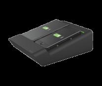 Duo-incarator de birou pentru 2 smartphone-uri sau o tableta PC, negru, LEITZ Complete