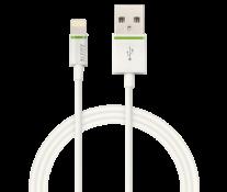 Cablu de date - USB, 1m, alb, LEITZ Complete Lightning