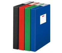 Dosar mapa din carton lucios, A4, diverse culori, HERLITZ