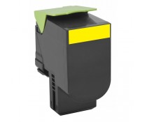 Toner, yellow, LEXMARK 80C20Y0