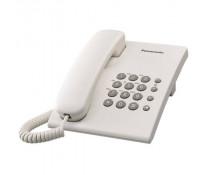 Telefon analogic PANASONIC KX-TS500RMW, alb, cu fir