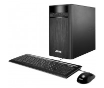 Desktop PC ASUS K31AN Tower, Procesor Quad Core Intel® Pentium® J2900 2.41GHz Bay Trail, 4GB, 1TB, GMA HD, FreeDos, Black