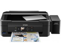 Multifunctionala inkjet color EPSON L486, CISS, A4, Wi-Fi, USB, Card Reader