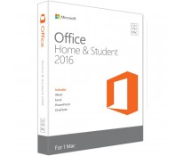 MICROSOFT OFFICE Home and Student 2016 for MAC, engleza, Medialess