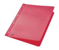 Dosar din carton, cu capse 1/1, 250 g/mp, rosu, LEITZ