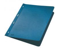 Dosar din carton, cu capse 1/1, 250 g/mp, albastru, LEITZ