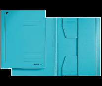 Mapa din carton, A4, albastru, LEITZ